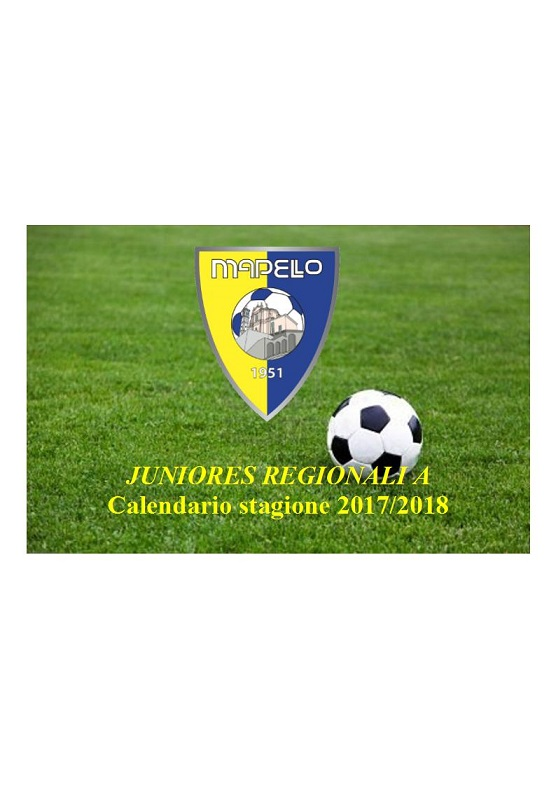 Calendario Juniores Regionali.Mapello Calcio Juniores Regionale A Il Calendario Girone